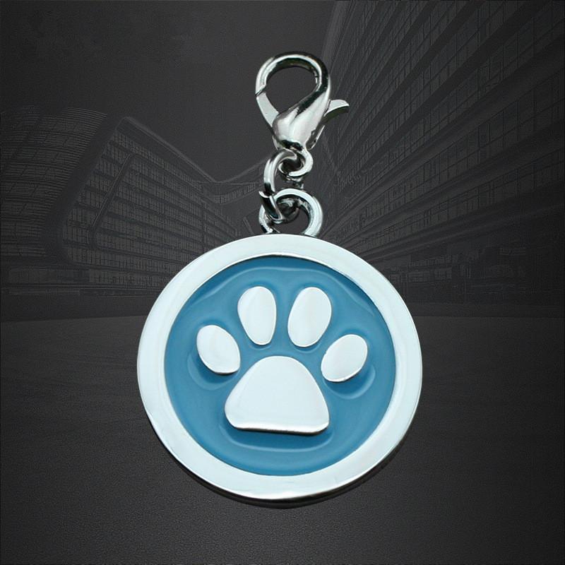 供給亜鉛合金のペットタグラウンドドッグタグ抗失われた犬のタグ