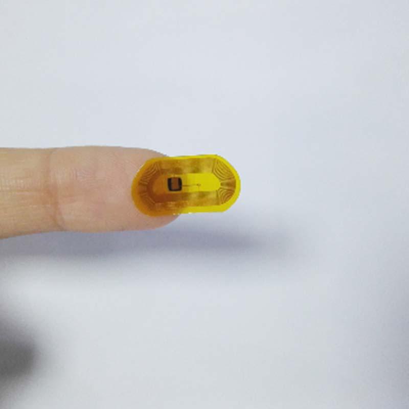 工場価格カスタムアンチ金属NFC / RFIDタグ/ステッカー/ラベルマイクロ最小サイズ13.56 mhzパッシブrfidチップfpcミニnfcタグティッカー
