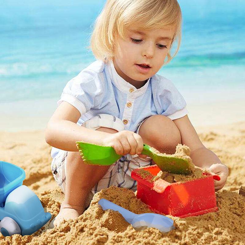 夏が来ています、どんな種類のおもちゃが必要ですか? - 砂のおもちゃ