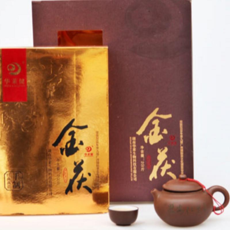 2000グラムゴールドフーズアン湖南省anhua紅茶健康茶