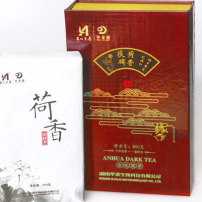 Mは、蓮の香りの良い府茶茶湖南省の紅茶健康茶を設定します