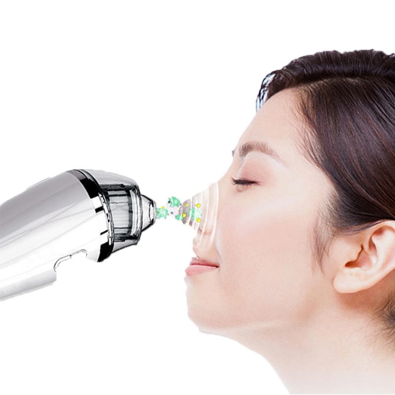 にきび除去掃除機-毛穴クリーナー電気にきび吸引顔面顔面にきび抽出ツール用女性&男性