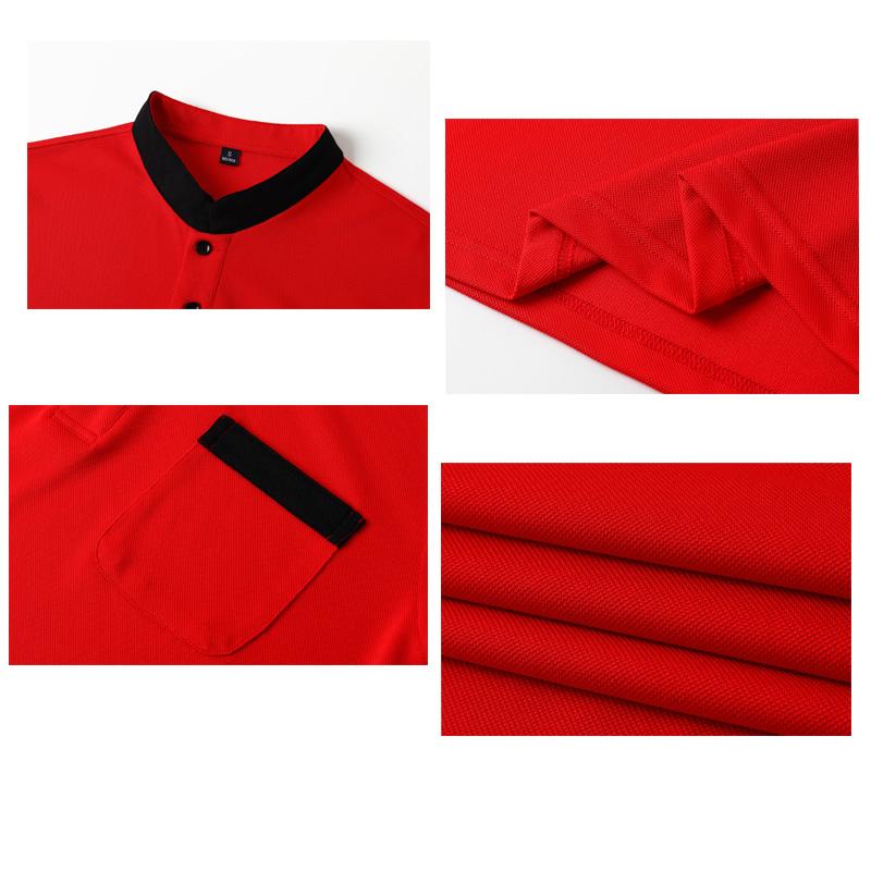 #1901-スタンドカラーシャツ