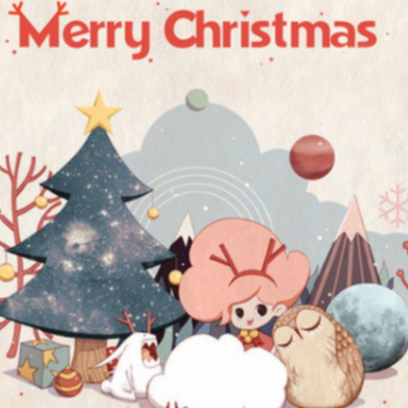 メリークリスマスまたはハッピークリスマス