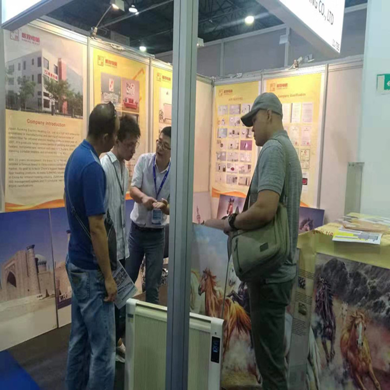 Sunking Electric Heating Companyが参加したKazBuild 2019 at ALMATY