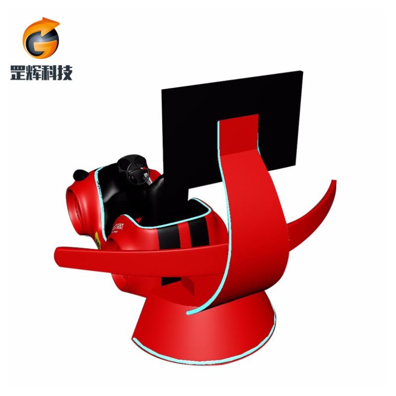 レーシングシミュレーターVRマシングローバルホットセールテーマパーク機器3軸VRレーシングカー
