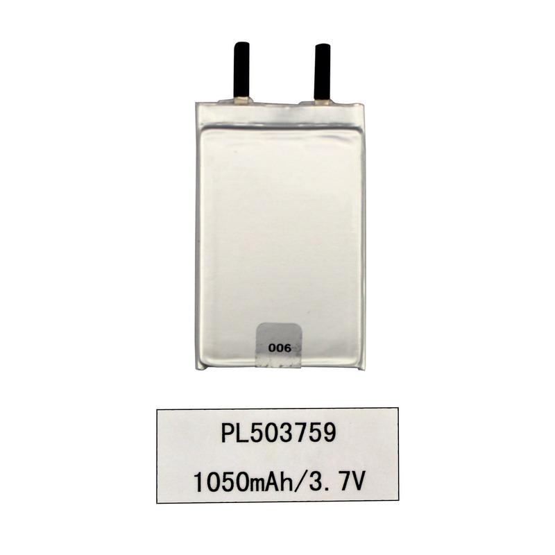 3.7Vリチウムイオンリポポリマー1050mAhデジタル製品バッテリー