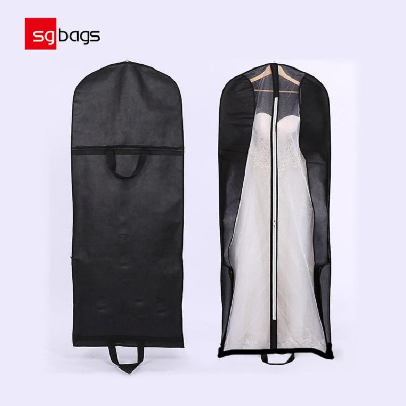 卸し売りカスタマイズされた花嫁衣装の塵袋の婚礼衣Garの衣装袋