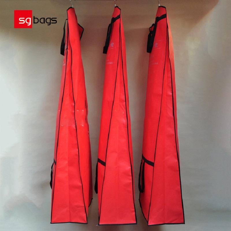 SGW03カスタマイズされたロゴファッションブライダルウェディングドレスドレス大容量ボックス不織布衣服収納袋