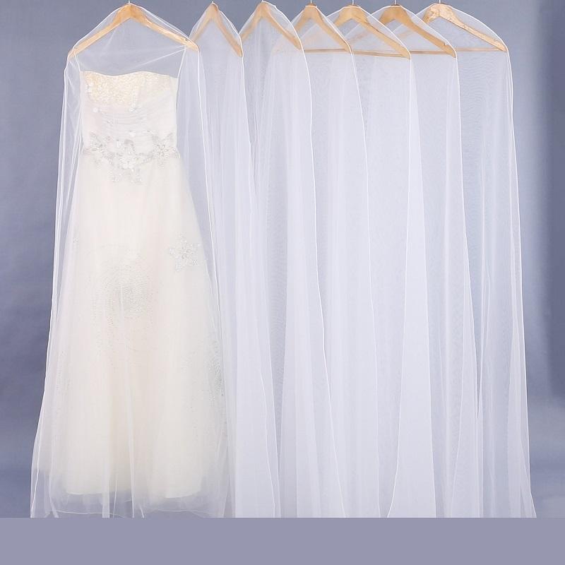SGW10オーガンザクリアウェディングドレスブライダルガウンガーメントバッグ女性用ドレス