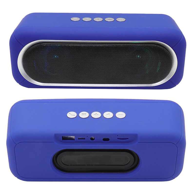 OS-590 Bluetoothスピーカー、ちらつきのあるカラフルな光