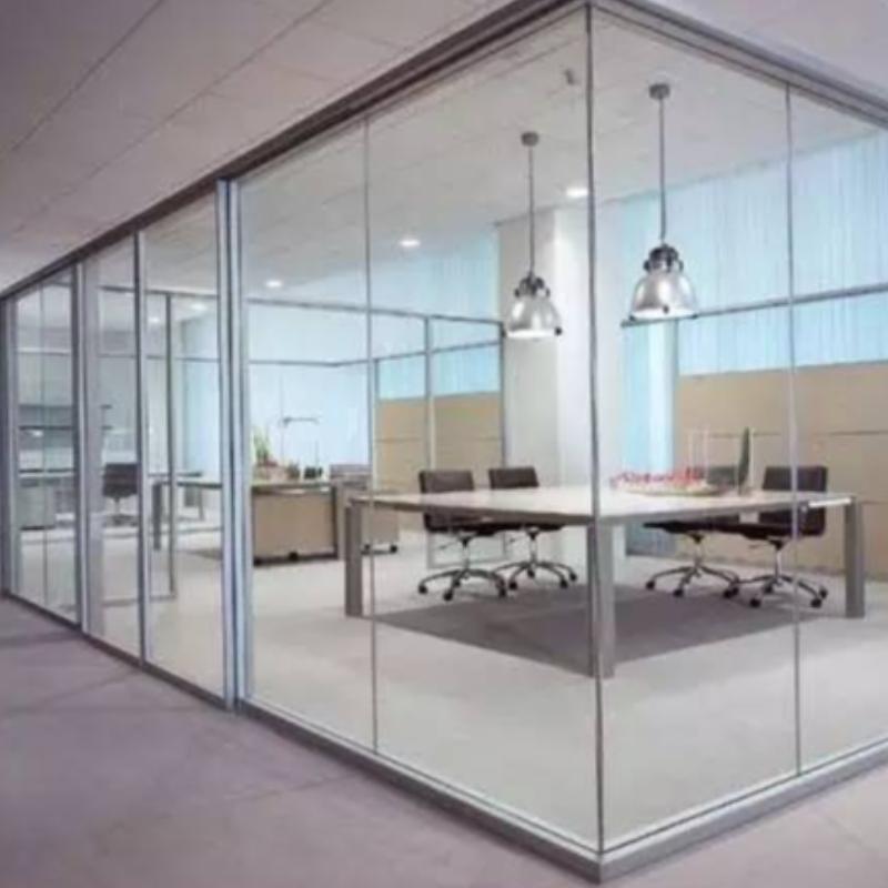 フレームレスガラス床スプリングドアの詳細設置方法
